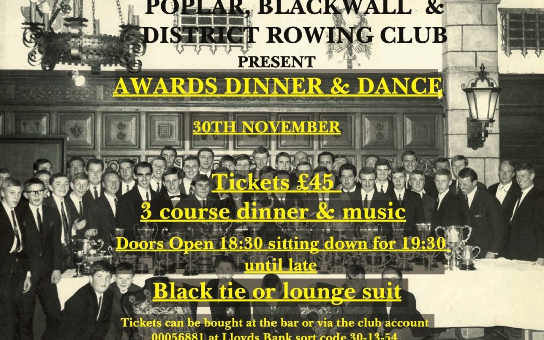 PBDRC Awards Dinner and Dance 2019